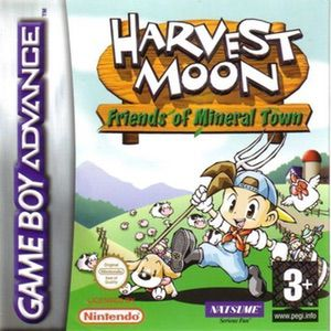 Harvest Moon Friends Of Mineral Town Gba Gameboy Advance Gba Rom Free Download