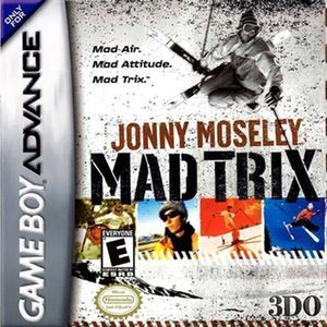 Jonny Moseley Mad Trix ROM cover