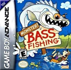 Monster Bass Fishing ROM cover