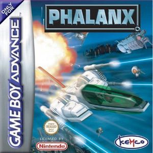 Phalanx - The Enforce Fighter A-144 ROM cover