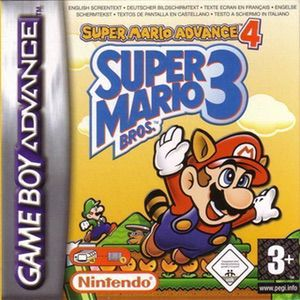 Super Mario Advance 4 - Super Mario Bros 3 ROM cover