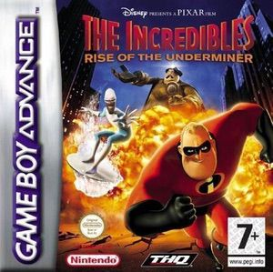 The Incredibles Rise Of The Underminer Gameboy Advance Gba Rom Free Download