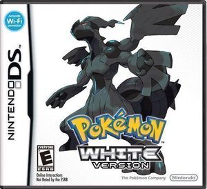 Pokemon - White Version ROM cover