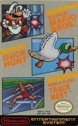 Super Mario Bros - Duck Hunt - Track Meet ROM cover